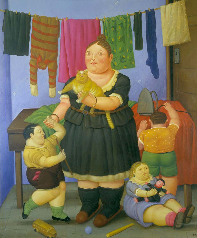 Fernando botero y sus obras taringa for El jardin de botero
