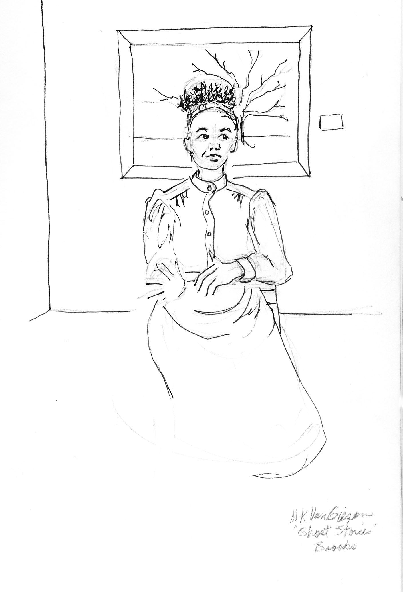 ghost stories-Mary K VanGieson