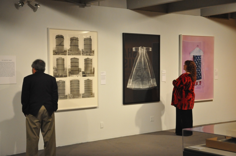Brooks members view the Shared Vision exhibition