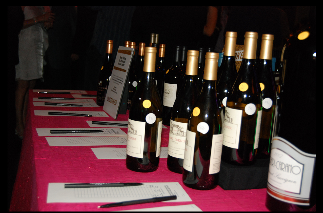 Wine bottles at Brooks Uncorked